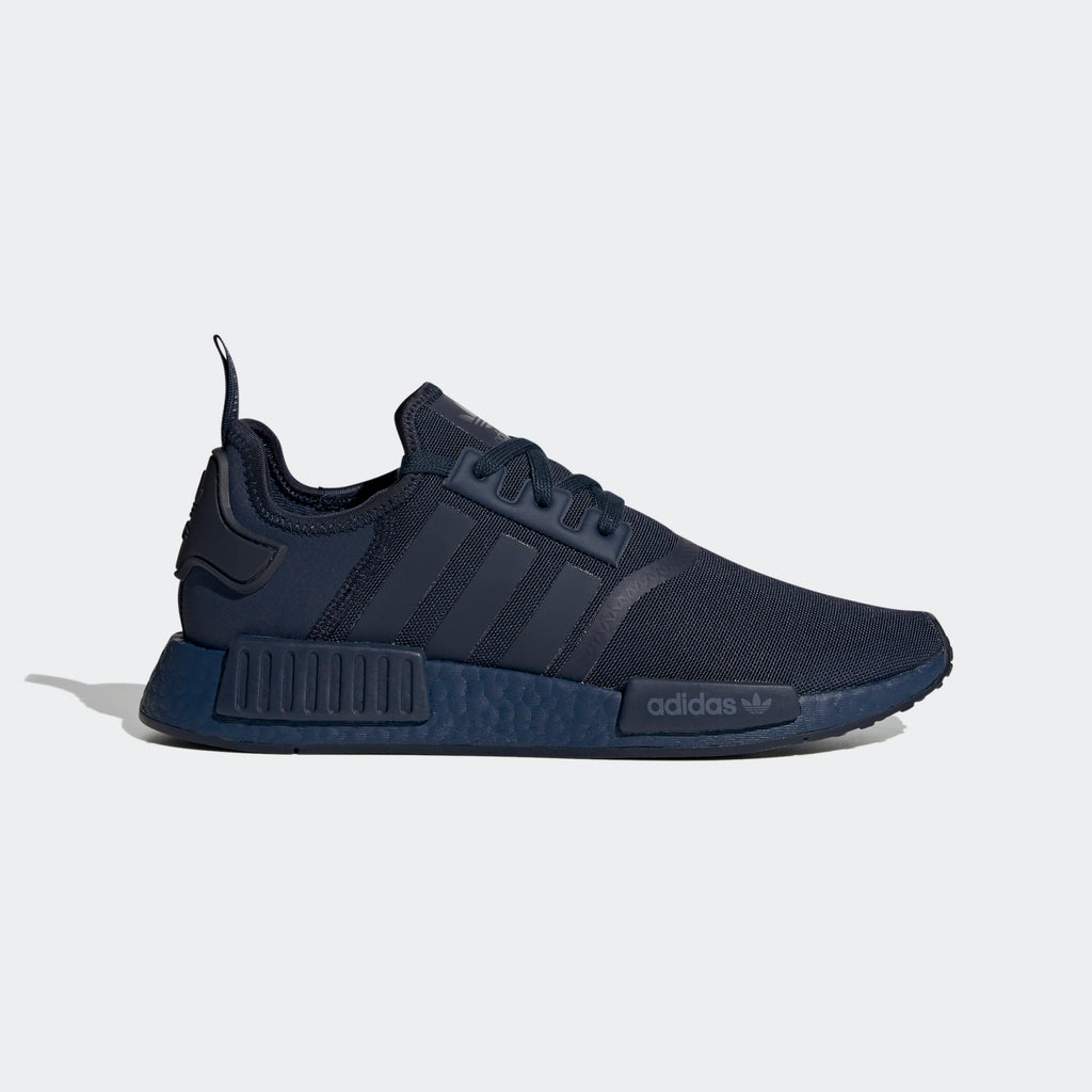 Men's adidas Originals NMD_R1 Shoes Triple Navy