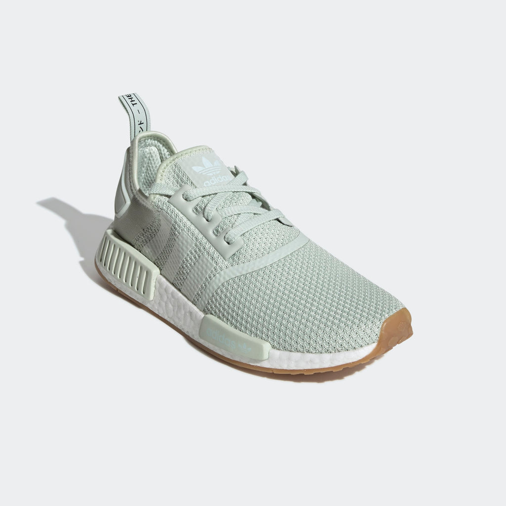 Men's adidas Originals NMD_R1 Shoes Linen Green