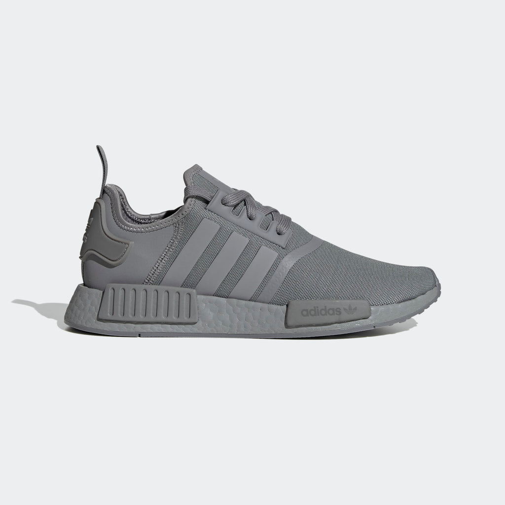 Men's adidas Originals NMD_R1 Shoes Triple Grey