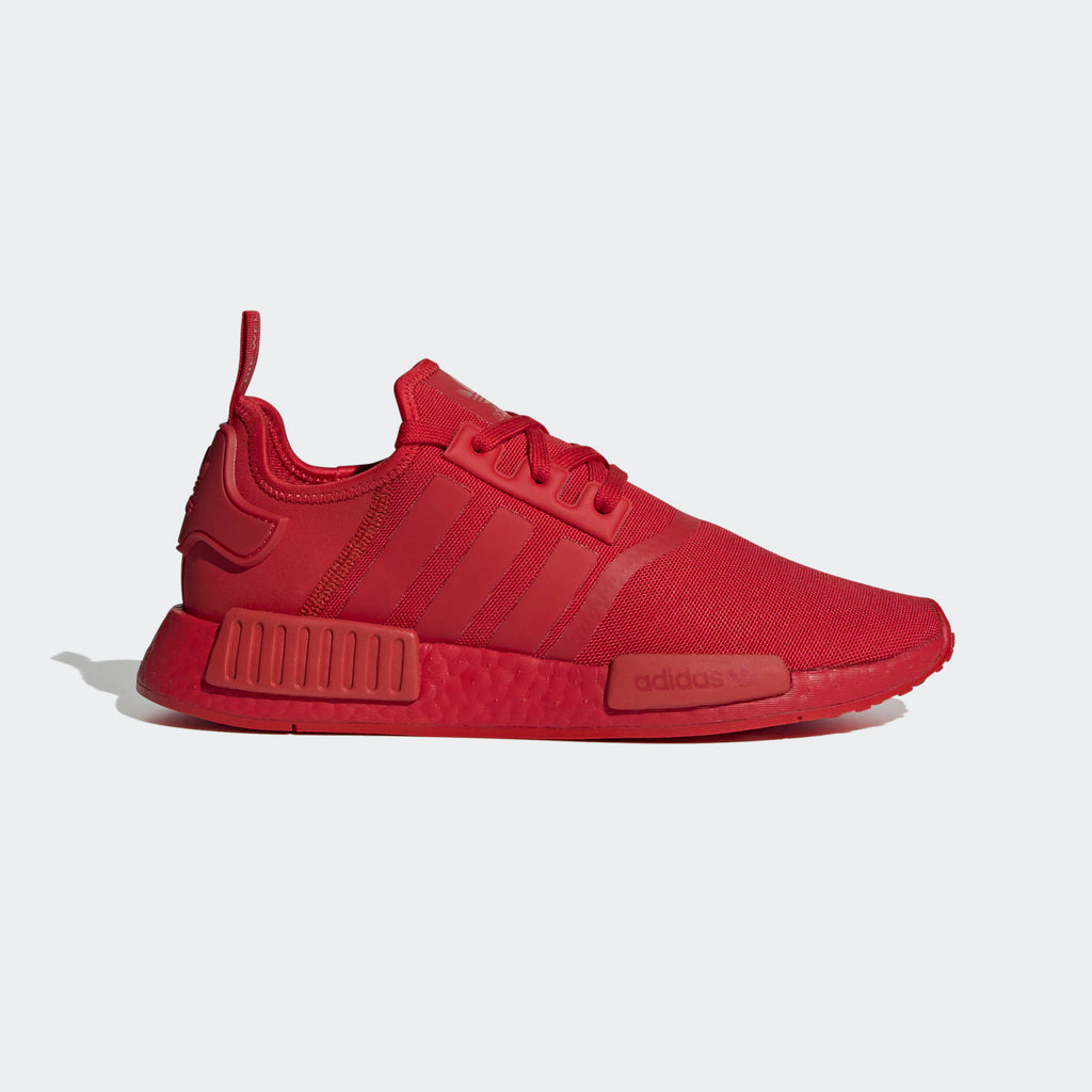 Men's adidas Originals NMD_R1 Shoes Triple Scarlet