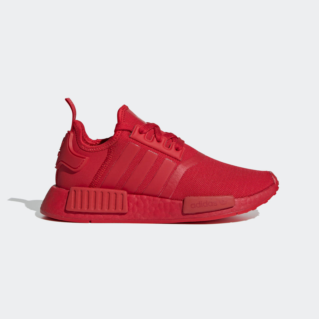 Kid's adidas Originals NMD_R1 Shoes Triple Scarlet