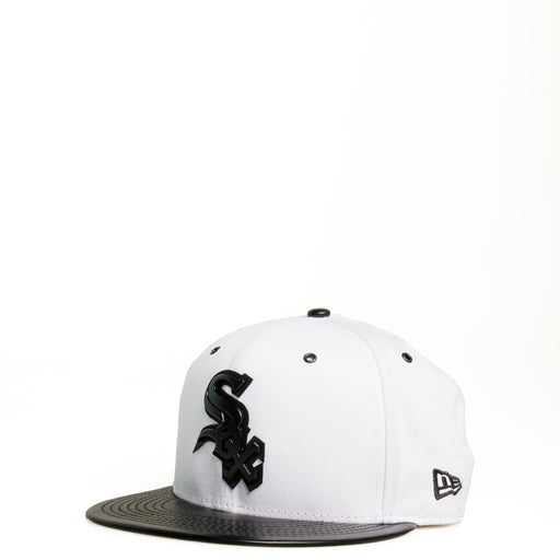1b125a1219 Men s New Era Chicago White Sox Cap White Black