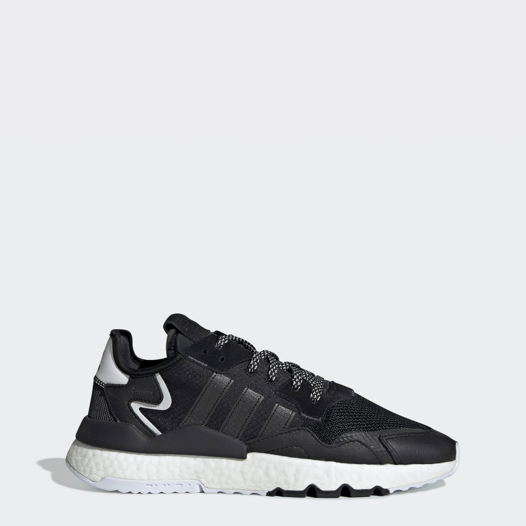 Men's adidas Originals Nite Jogger Shoes Core Black