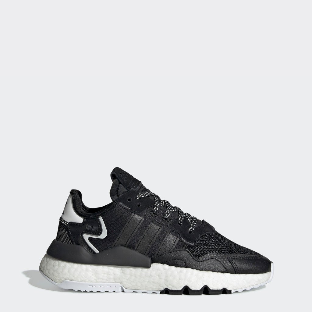 Kid's adidas Originals Nite Jogger Shoes Core Black