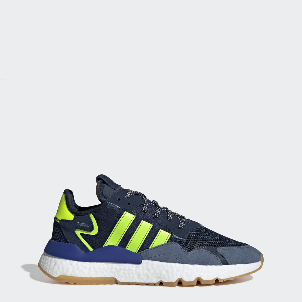 Men's adidas Originals Nite Jogger Shoes Collegiate Navy