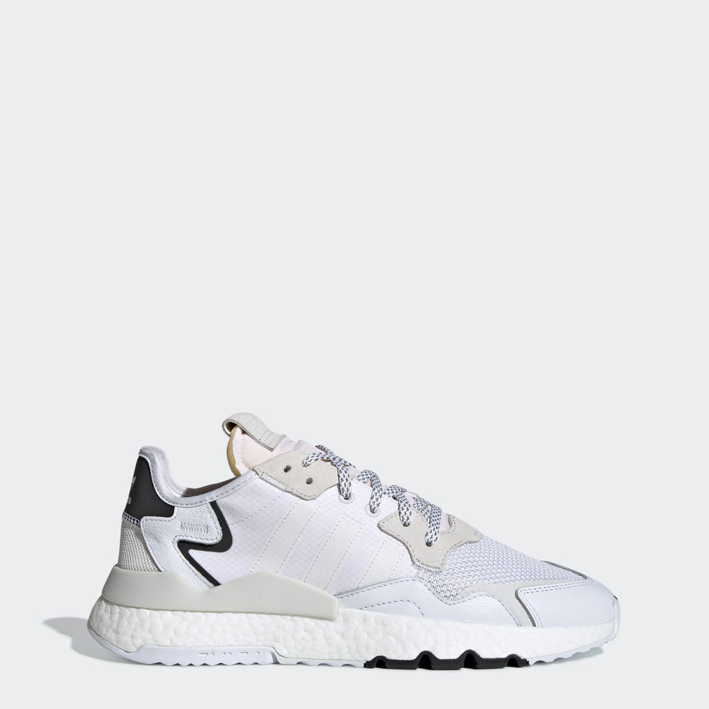 Men's adidas Originals Nite Jogger Shoes Cloud White