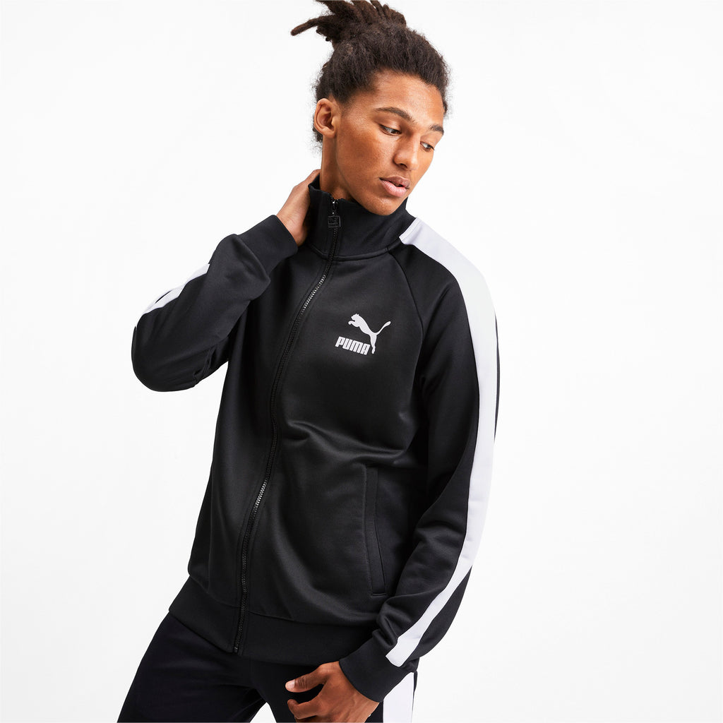 PUMA Iconic T7 Track Jacket Black