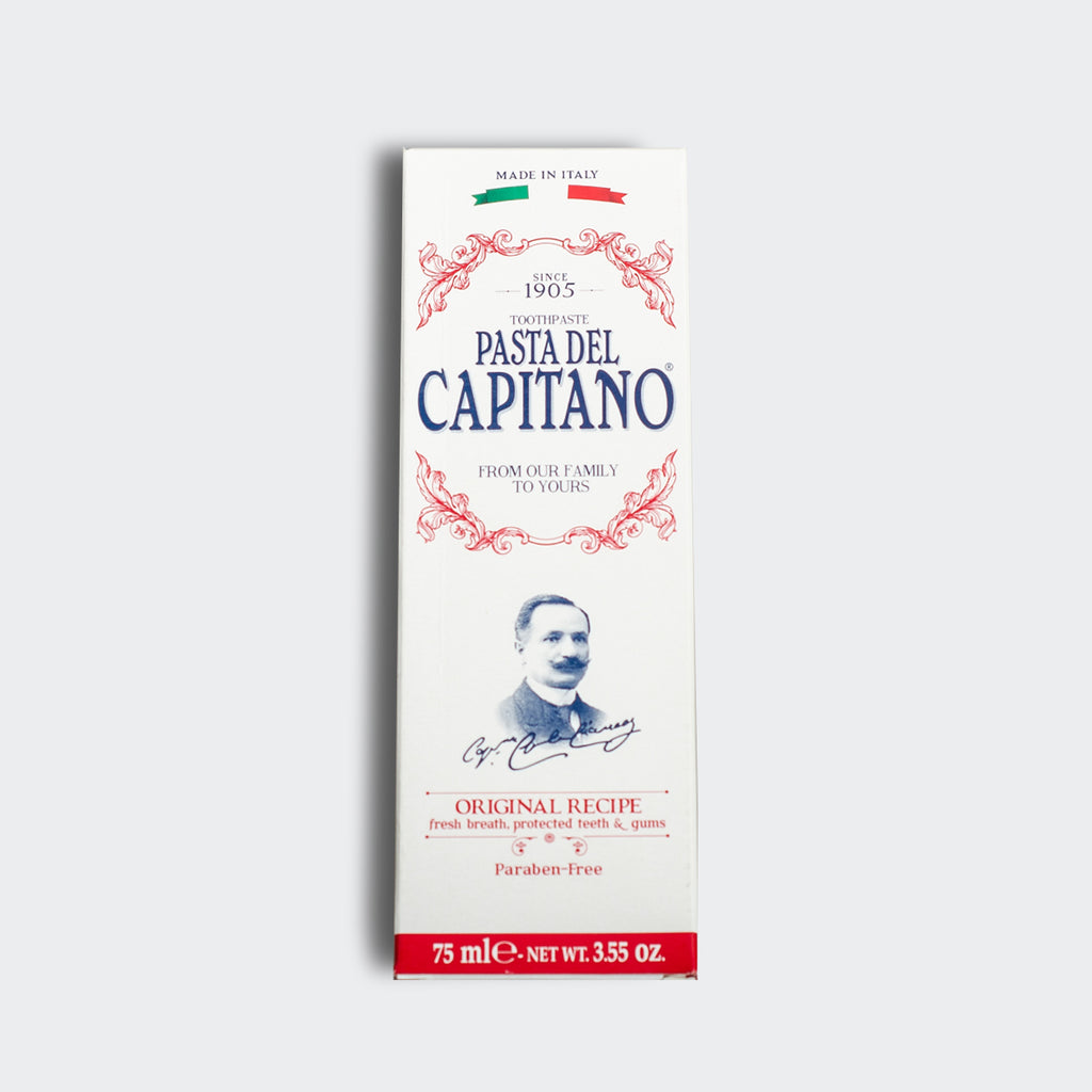 Pasta del Capitano 1905 Original Recipe Toothpaste 75ml