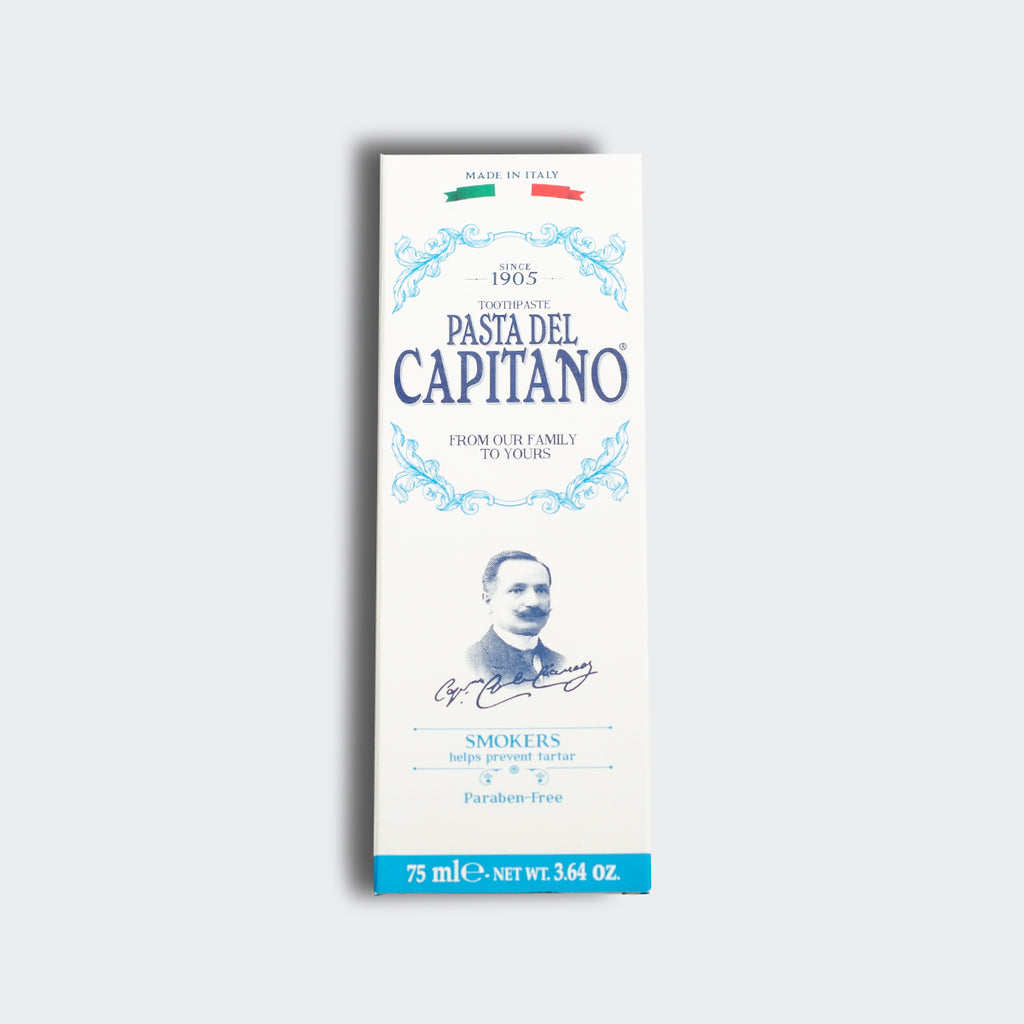 Pasta del Capitano 1905 Smokers Toothpaste 75ml