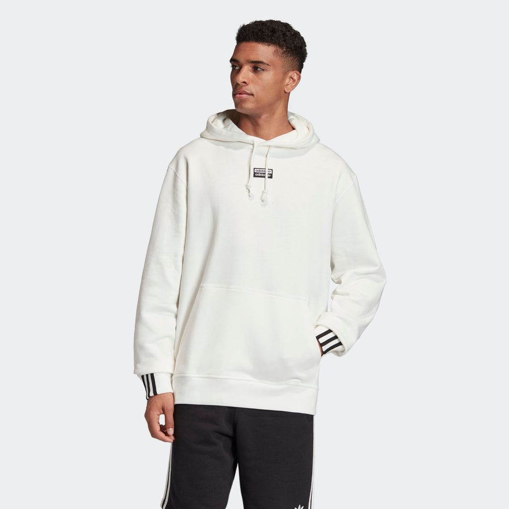 Men's adidas Originals R.Y.V. Hoodie White