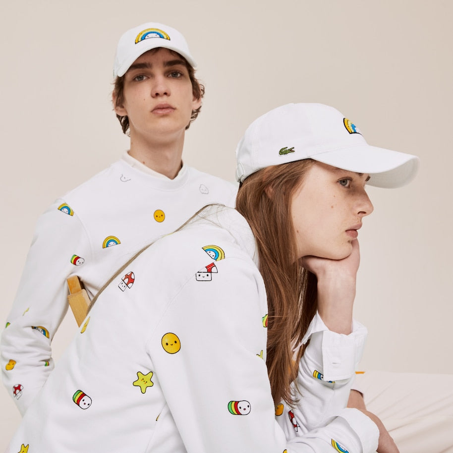Unisex Lacoste x FriendsWithYou Cap White