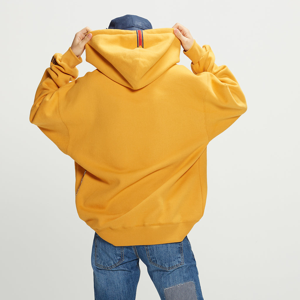 Unisex Romantic Crown 24H Hoodie Yellow