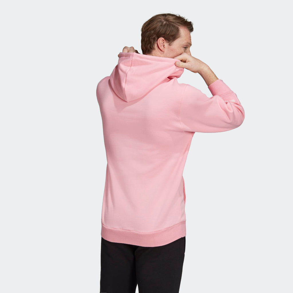 Men's adidas Originals Real Scarf Hoodie Pink