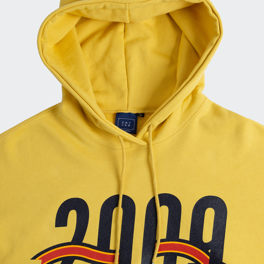 Unisex Romantic Crown 2009 Flag Hoodie Butter