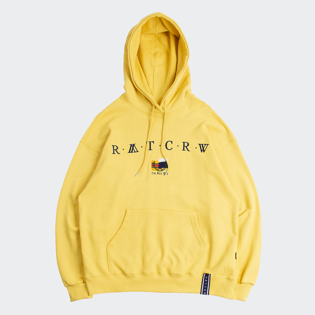 Unisex Romantic Crown RMTCRW Flag Hoodie Butter