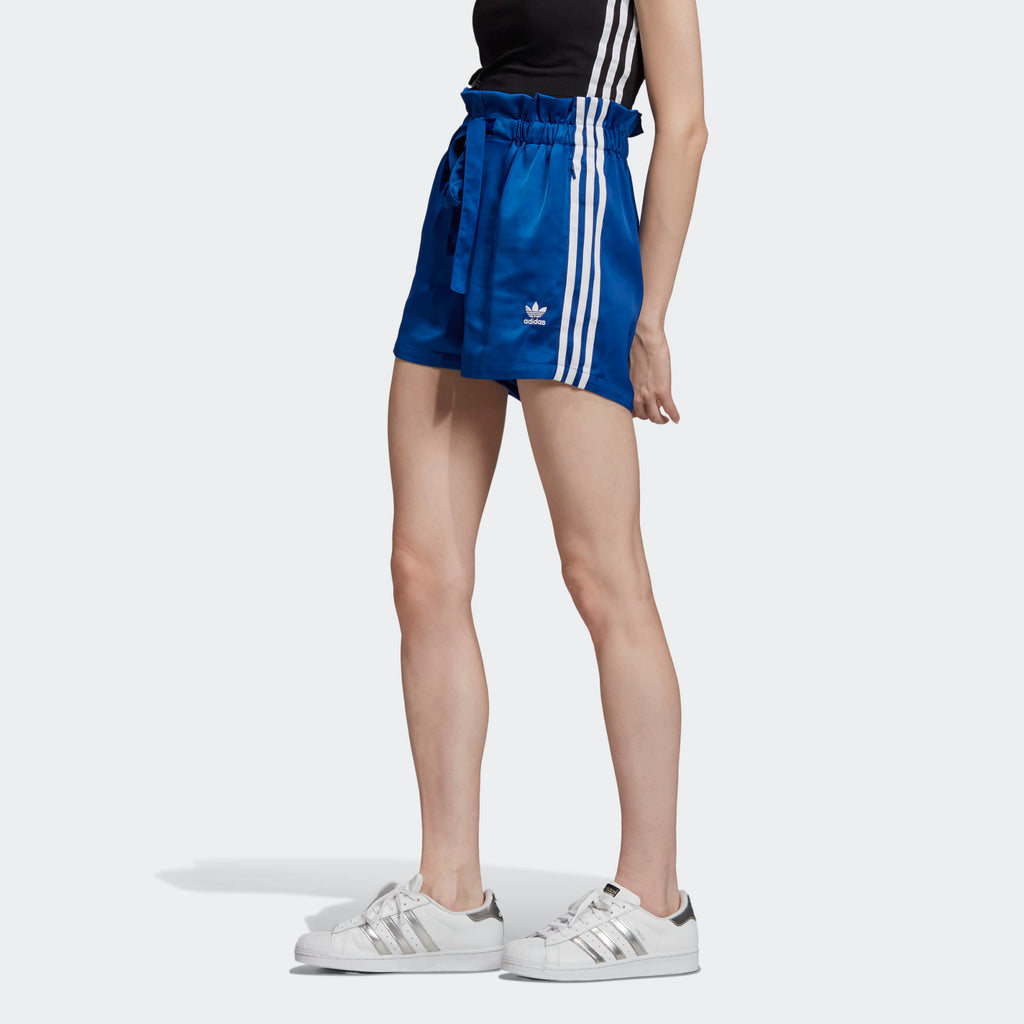 Women's adidas Originals Satin Shorts Collegiate
