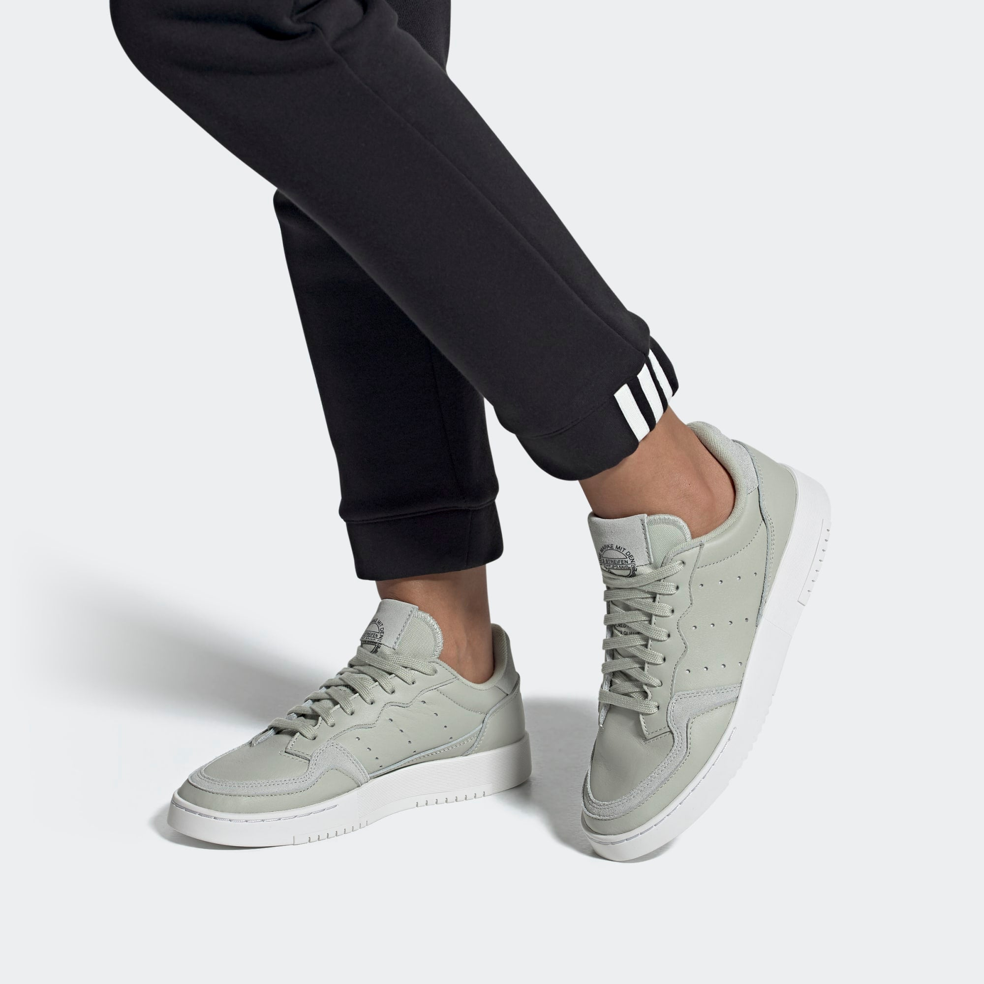 adidas Supercourt Shoes Ash Silver EE6045 | Chicago City Sports
