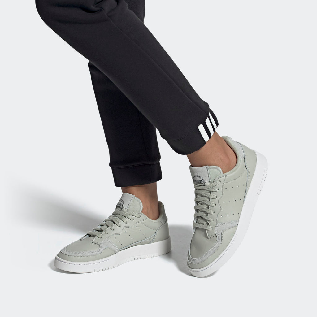 Women's adidas Originals Supercourt Shoes Ash Silver