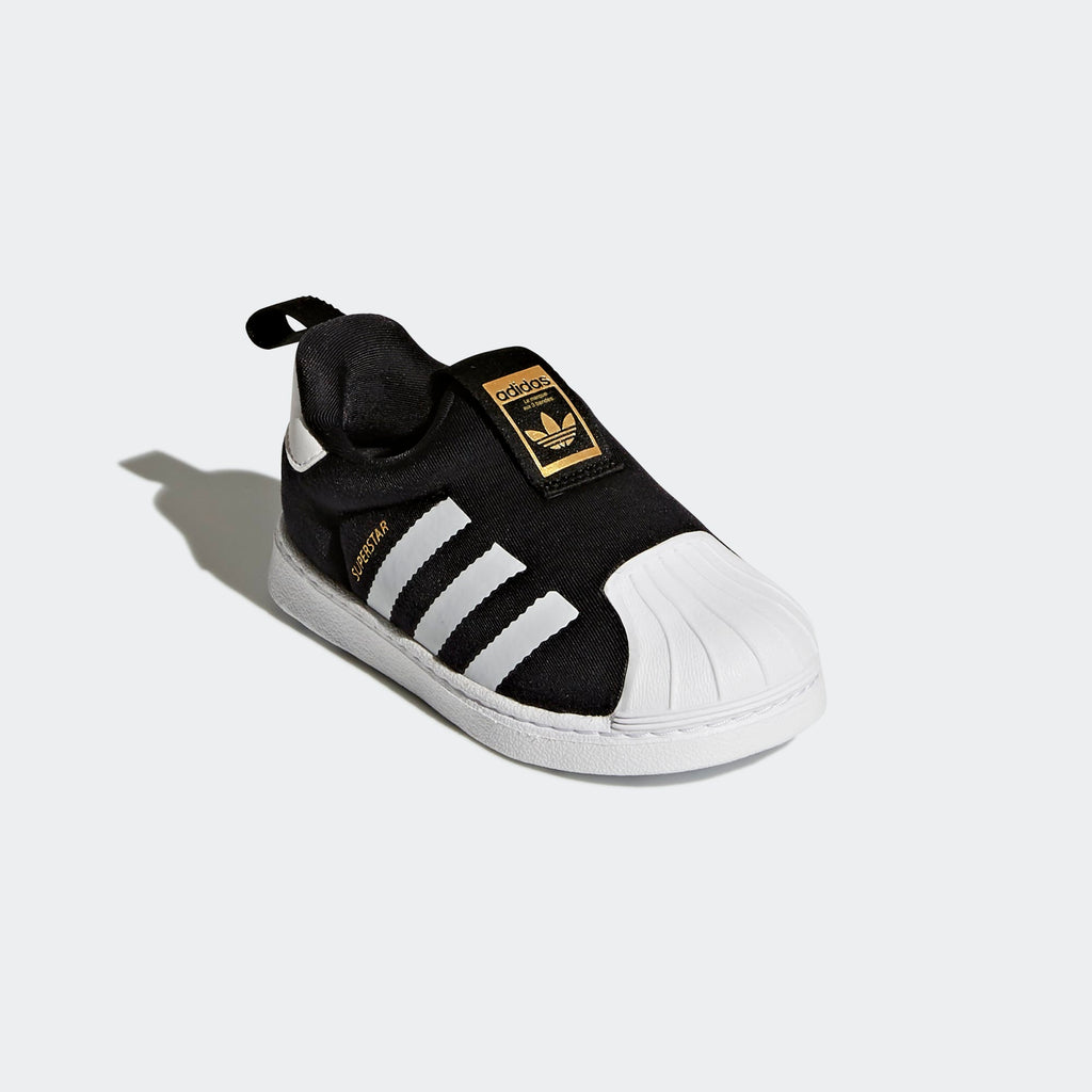 Toddler's adidas Originals Superstar 360 Sneakers Black