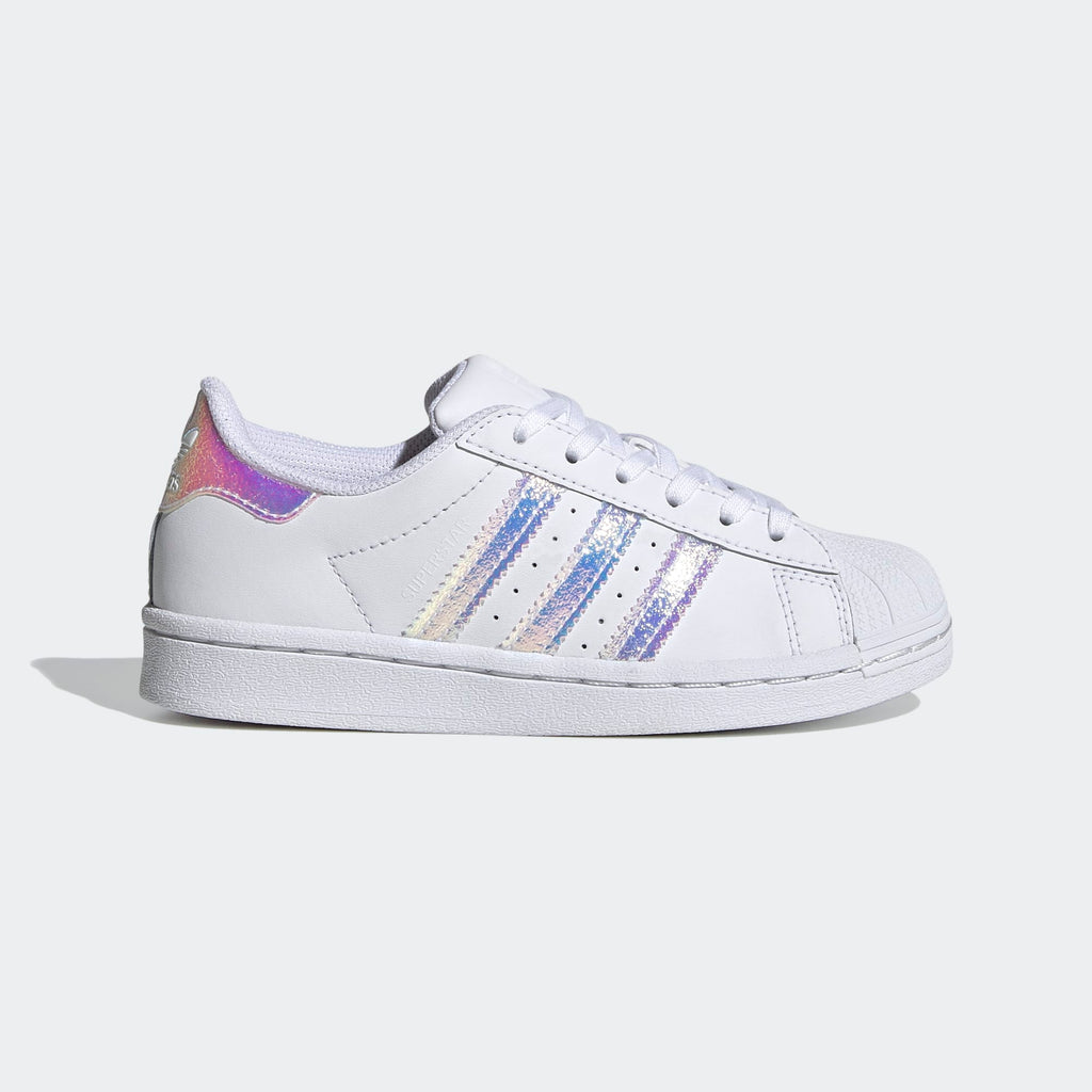Kid's adidas Originals Superstar Shoes Cloud White
