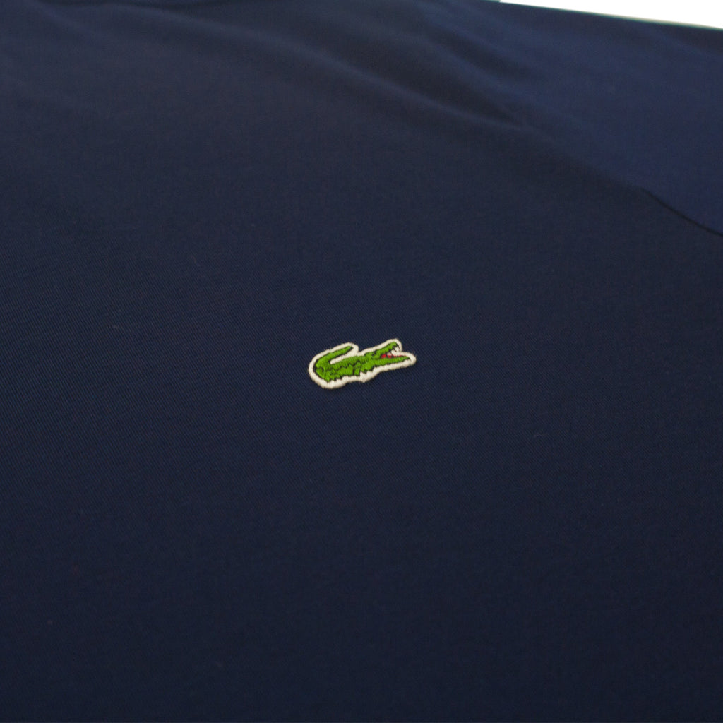 Men's Lacoste V-Neck Pima Cotton Jersey T-Shirt Navy Blue