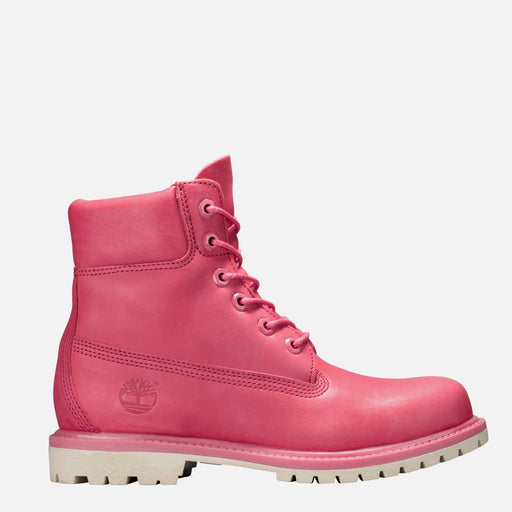 Women's Timberland 6-Inch Premium Waterproof Boots Spiced Coral
