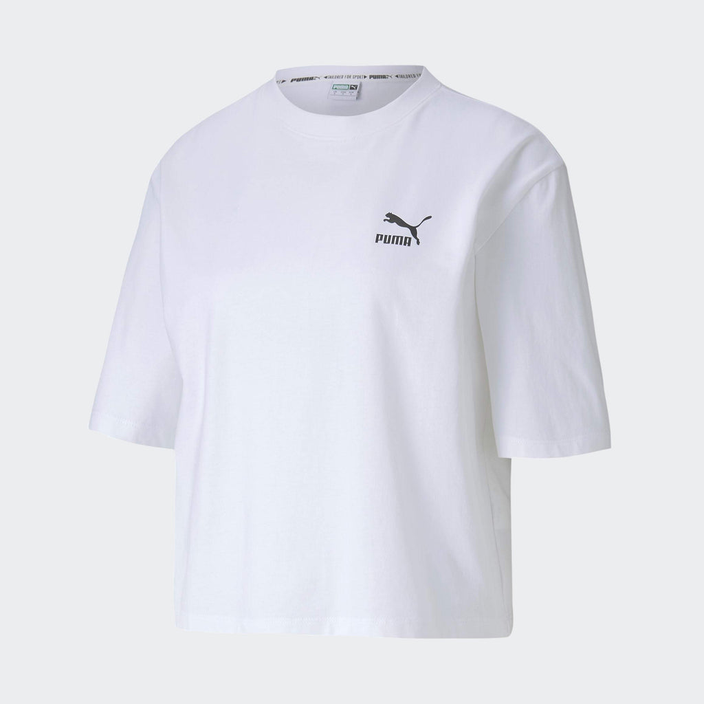 Women's PUMA Tailored for Sport Graphic Tee White