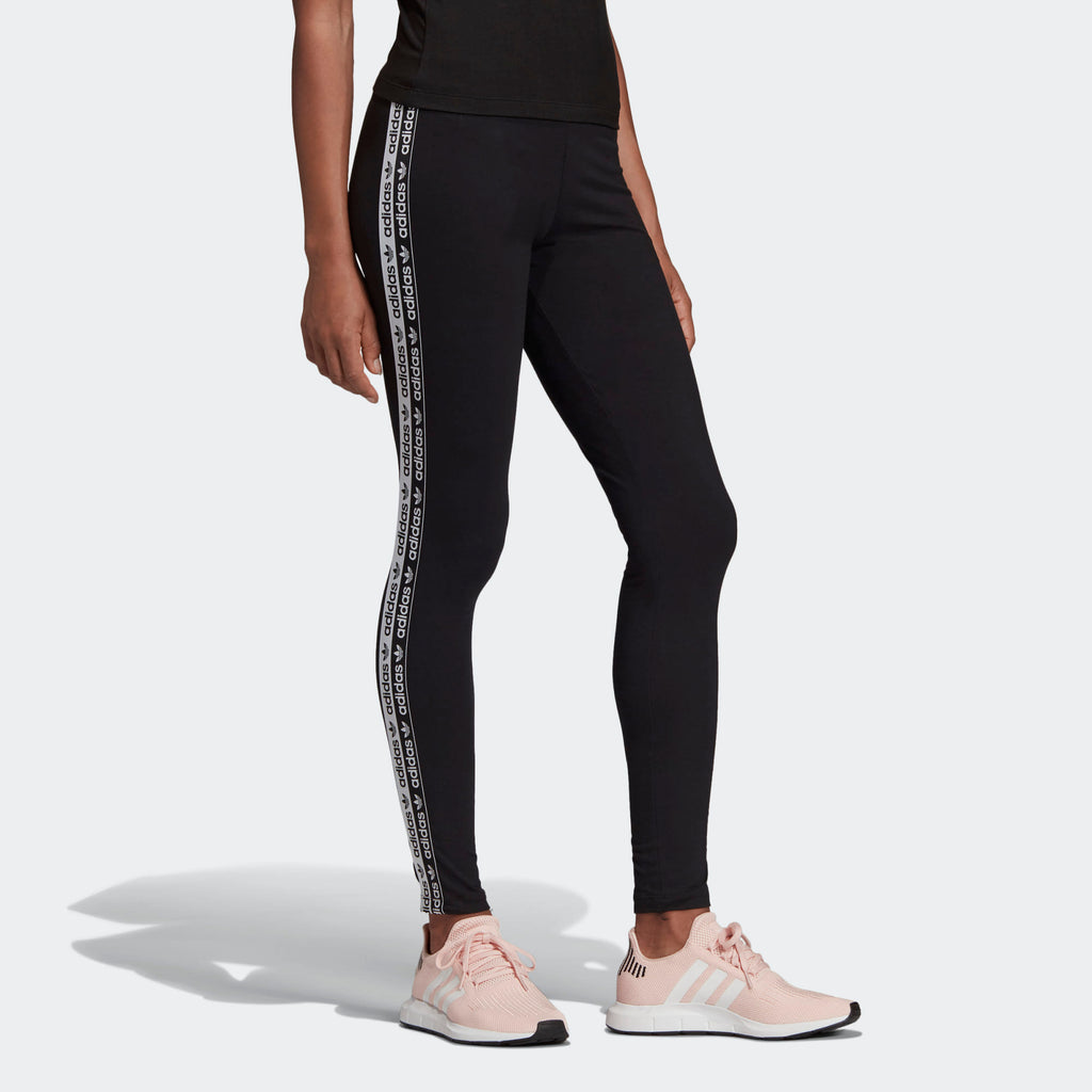 Women's adidas Originals Tape Leggings Black