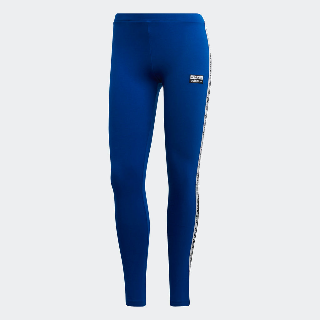 Women's adidas Originals Tape Leggings Collegiate Royal