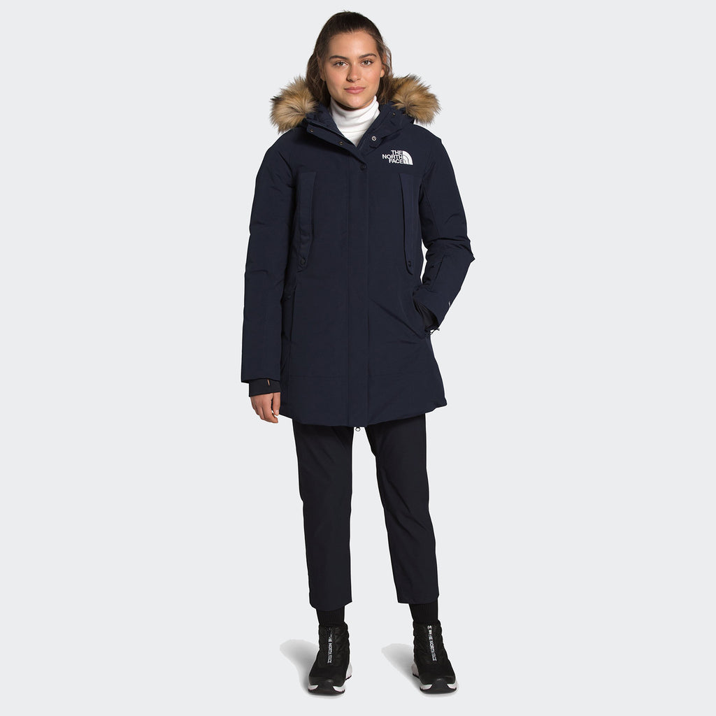 Women's The North Face Outer Boroughs Parka Navy