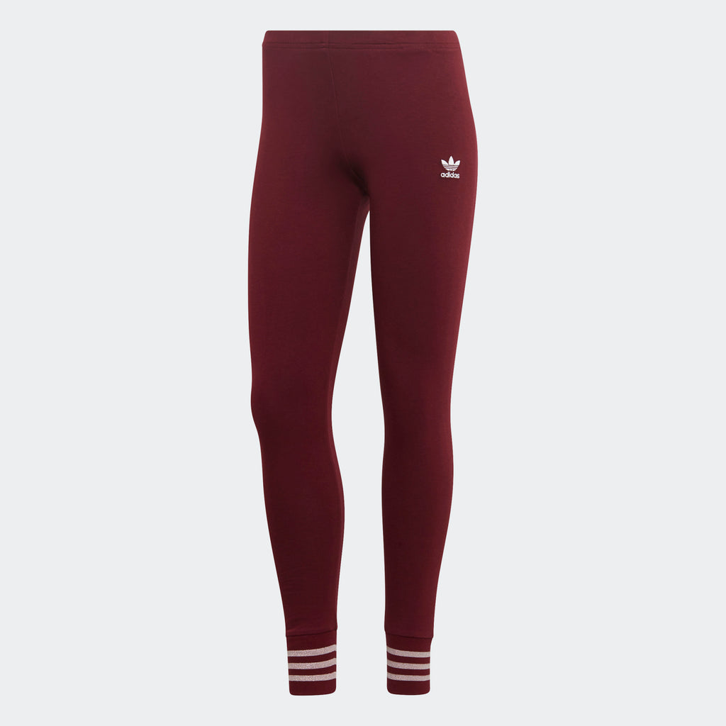 Women's adidas Originals Leggings Maroon