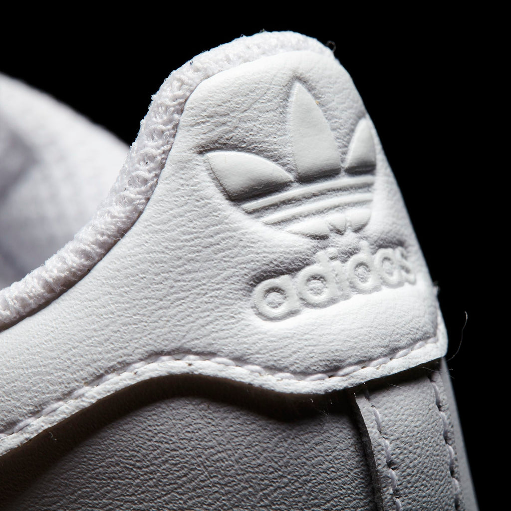 Toddler's adidas Originals Superstar Foundation Velcro Shoes Triple White