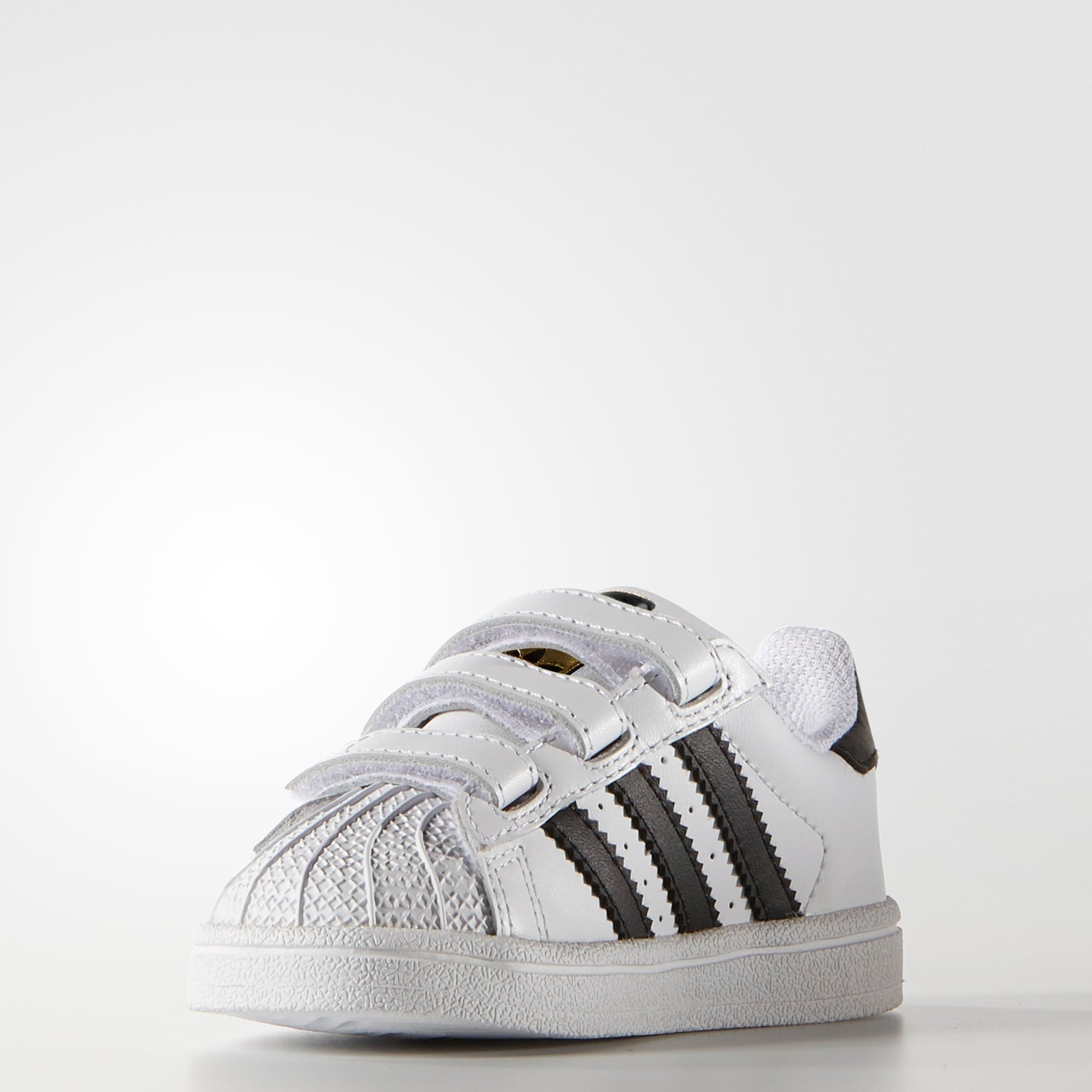 2c51d55308df3a Toddler s adidas Superstar Foundation Comfort Strap Shoes Cloud White. 1