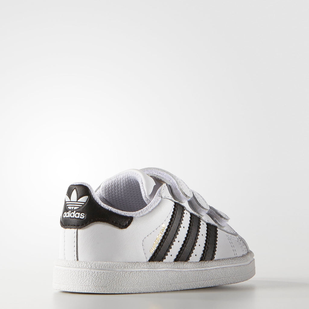 Toddler's adidas Superstar Foundation Comfort Strap Shoes Cloud White