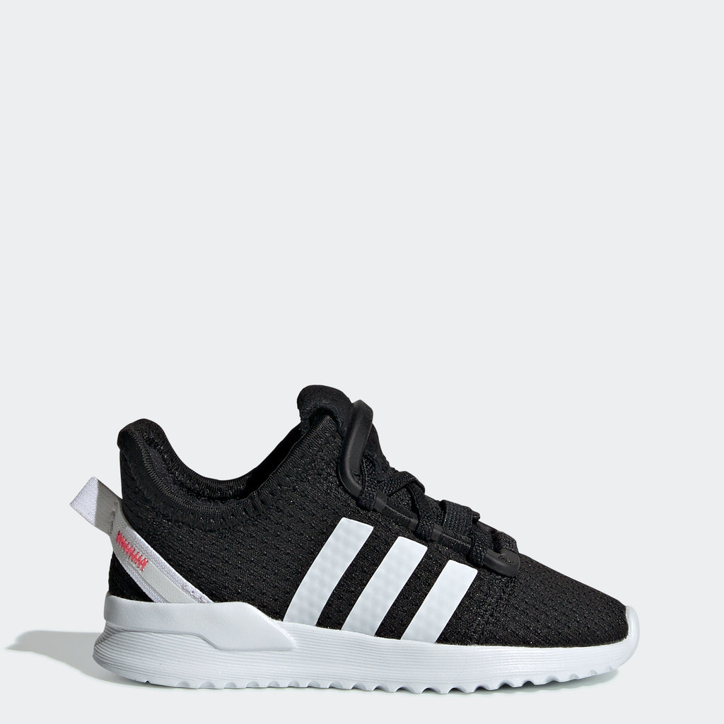 Toddler's adidas Originals U_Path Run Shoes Black White