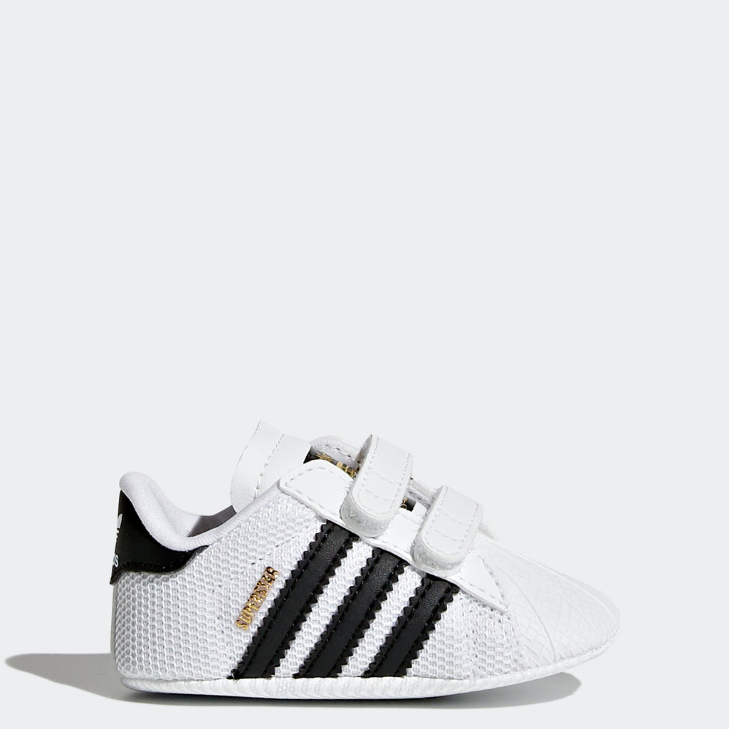 Toddler's adidas Originals Superstar Shoes White S79916 | Chicago City Sports | side view