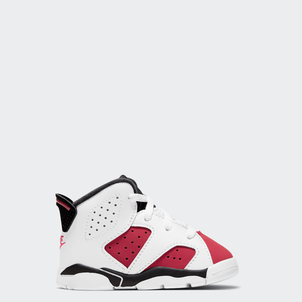 "Toddlers' Air Jordan 6 Retro ""Carmine"" 384667-106 