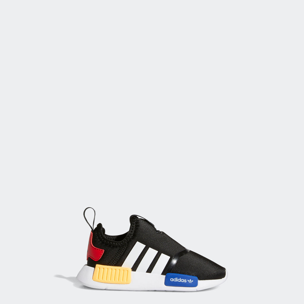 Toddlers' adidas NMD 360 Shoes Black H01855 | Chicago City Sports | side view