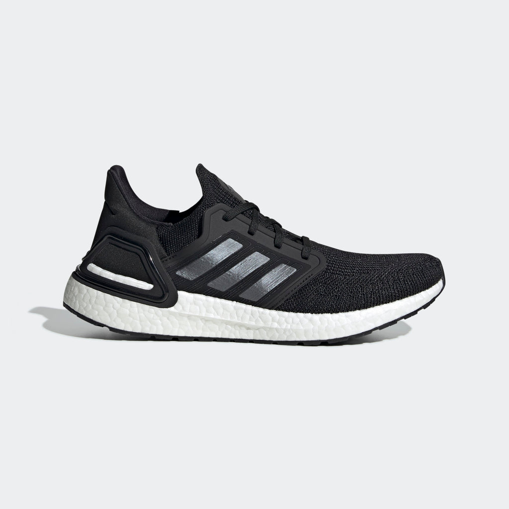 Men's adidas Running Ultraboost 20 Shoes Black Night Metallic