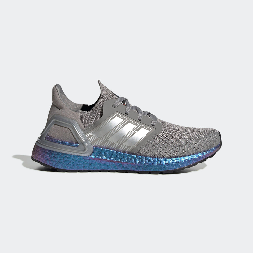 Kid's adidas Running Ultraboost 20 Shoes Dove Grey