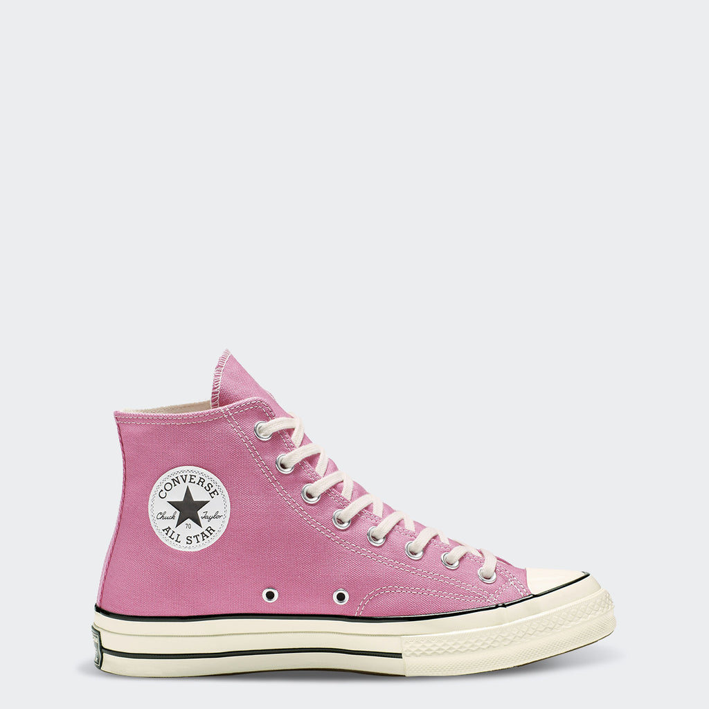 Unisex Converse Chuck 70 Vintage Canvas High Top Shoes Pink