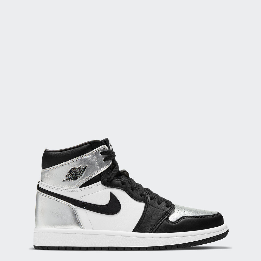"WMNS AJ 1 High OG ""Silver Toe"" CD0461-001 