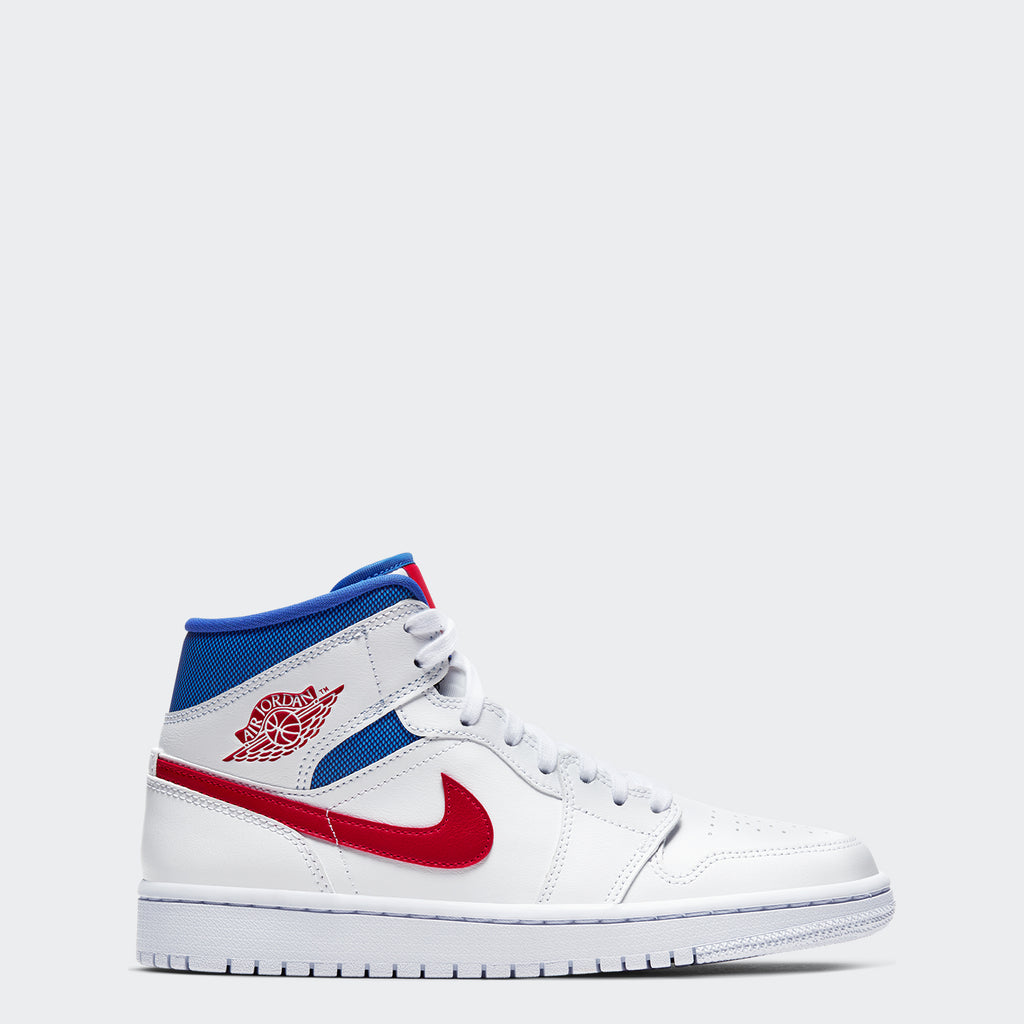"Women's Air Jordan 1 Mid Shoes ""USA"""