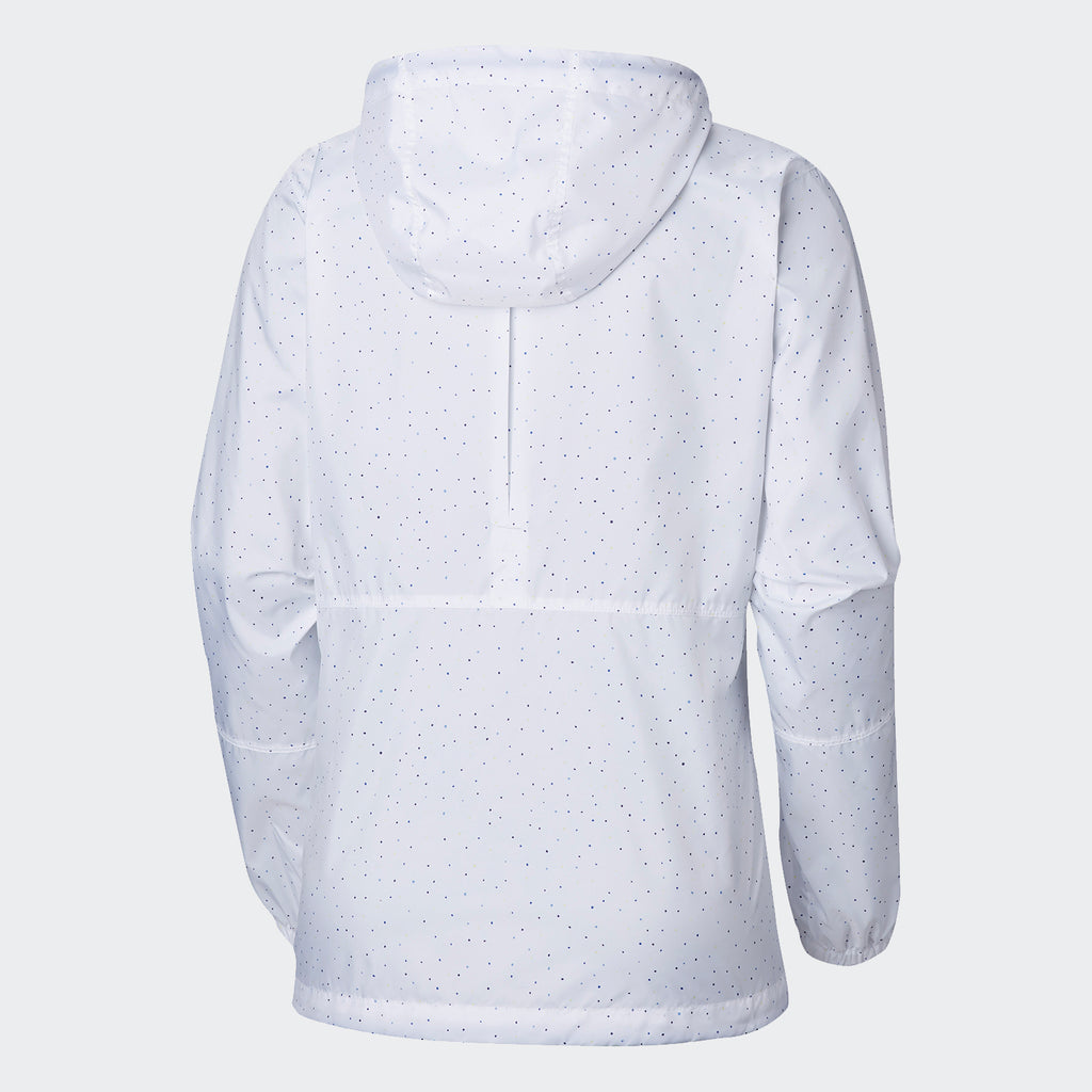 Women's Columbia Flash Forward Windbreaker White Dots