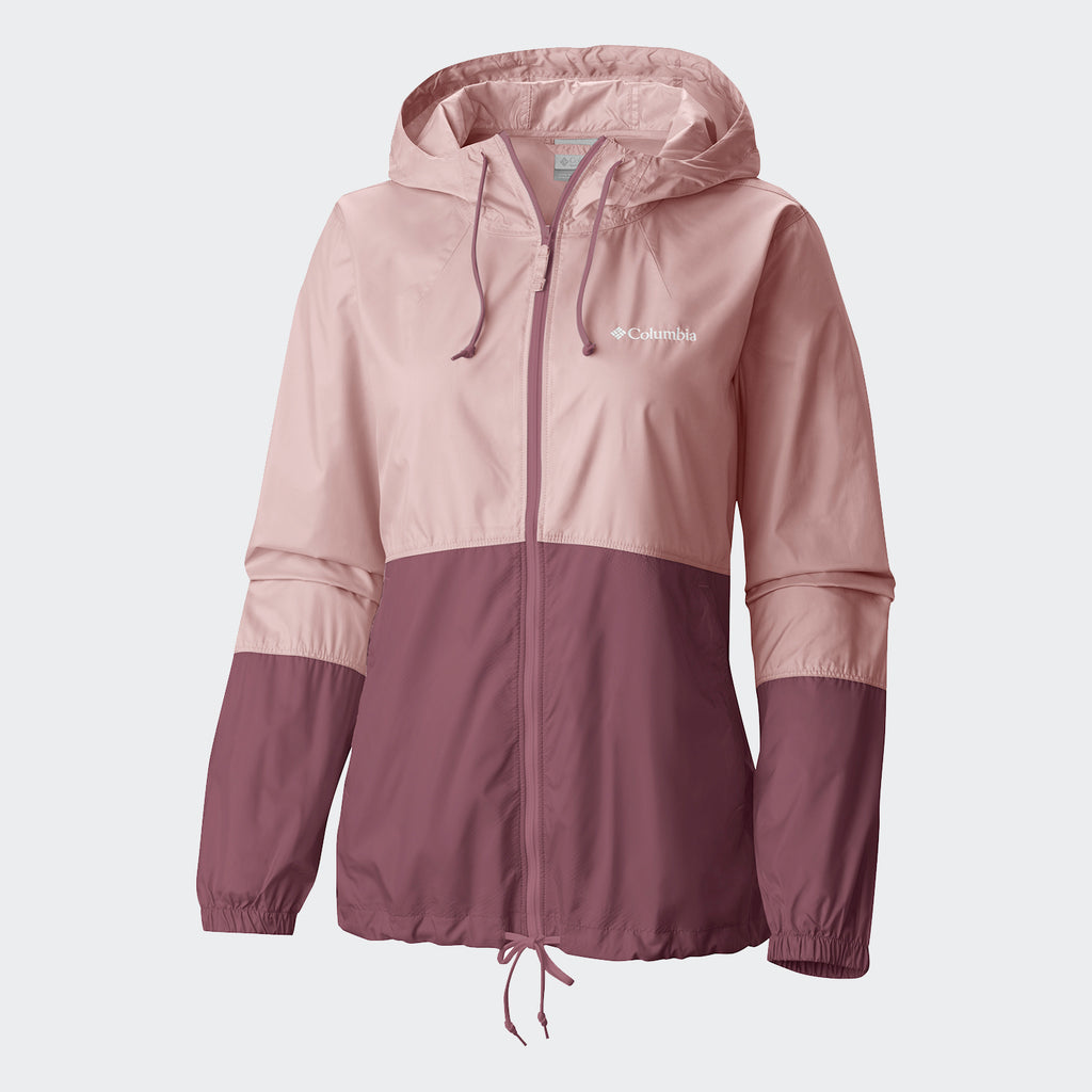 Women's Columbia Flash Forward Windbreaker Mineral Pink