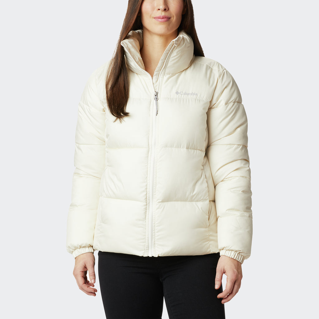 Women's Columbia Puffect Jacket Chalk