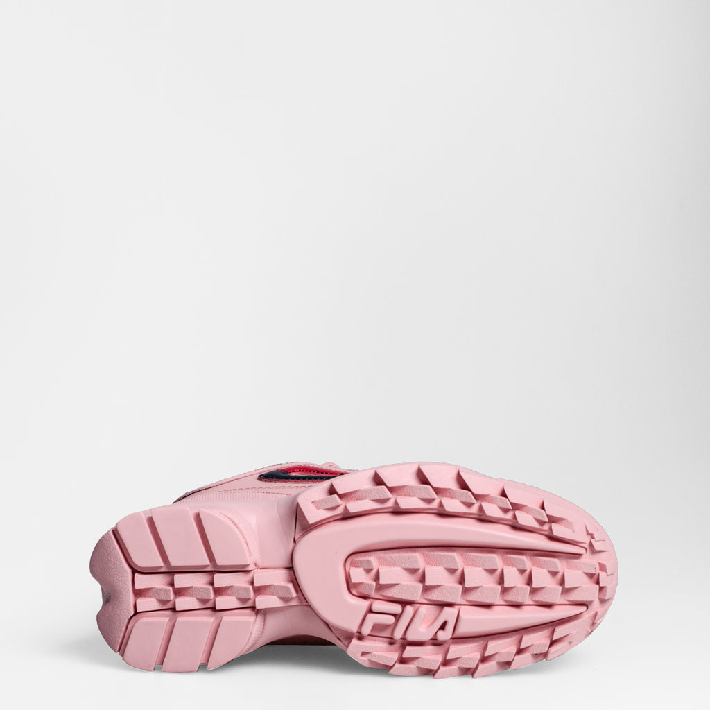 Women's FILA Disruptor 2 Premium Repeat Shoes Pink