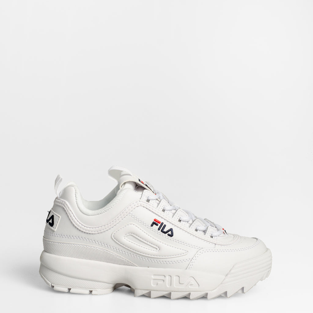 Women's FILA Disruptor 2 Premium Shoes White