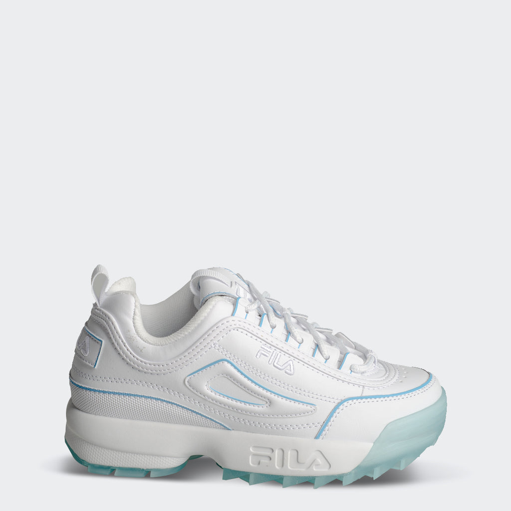 Women's FILA Disruptor 2 Shoes White Ice