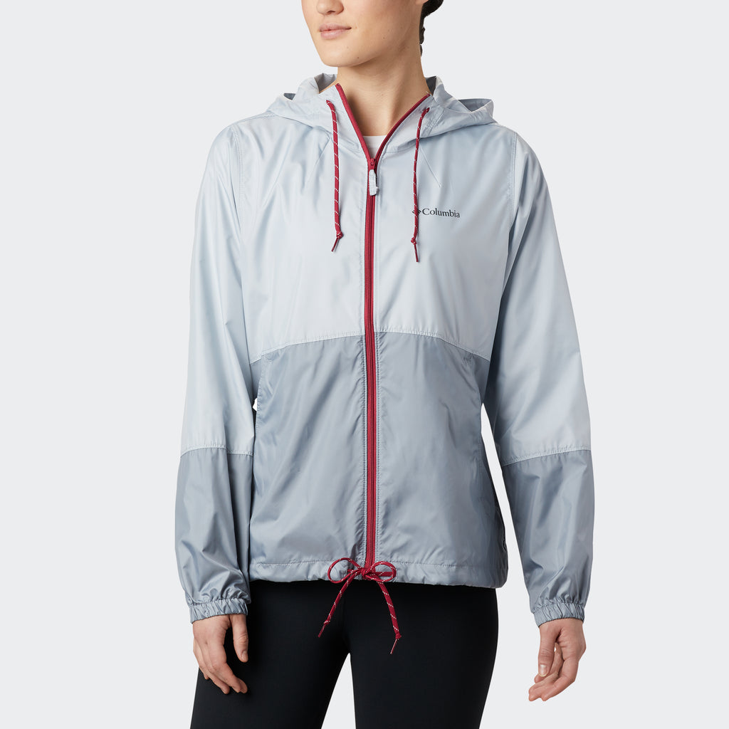 Women's Columbia Flash Forward Windbreaker Grey